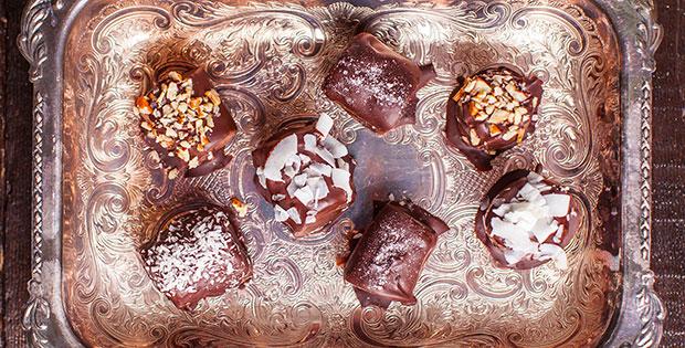 Frozen Maca Chocolate Banana Bites