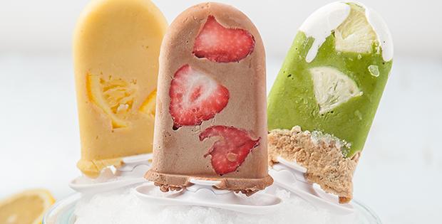 vegan frozen smoothie pops