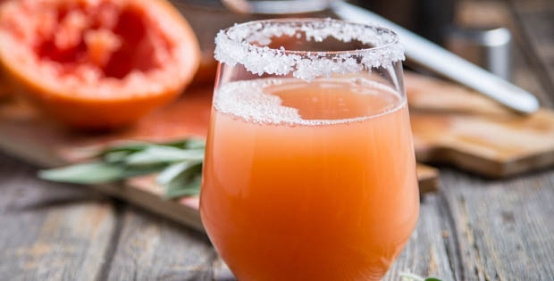 Grapefruit Sage Mocktail