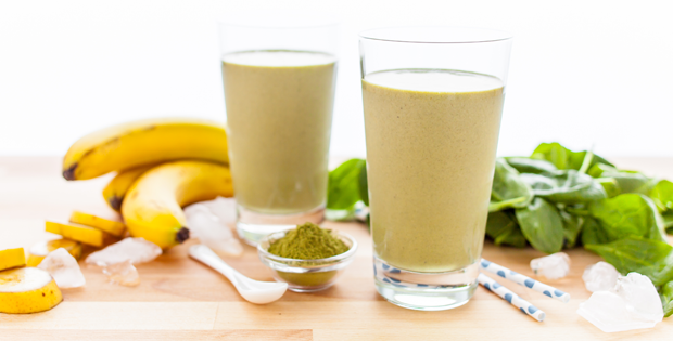 Banana Matcha Smoothie