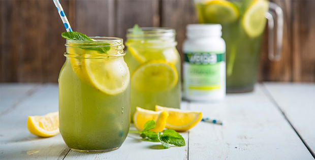 Matcha Green Tea Lemonade
