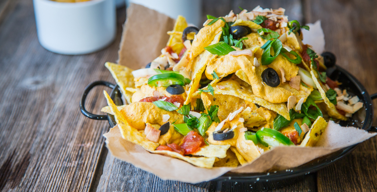 Nachos Vegan Cheese