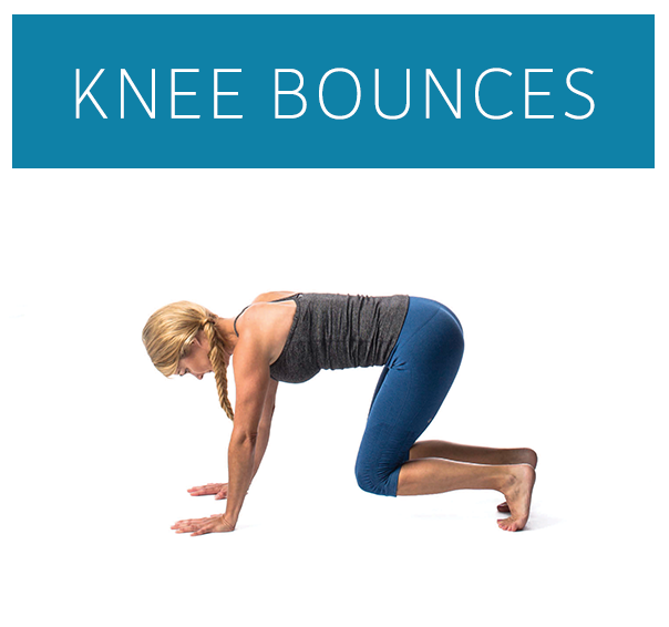 knee bounces demonstration