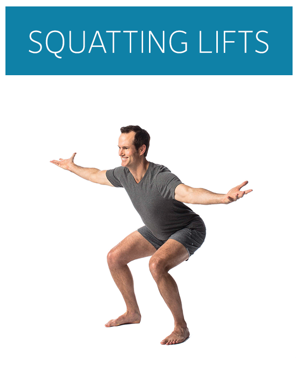 squatting lifts demonstration