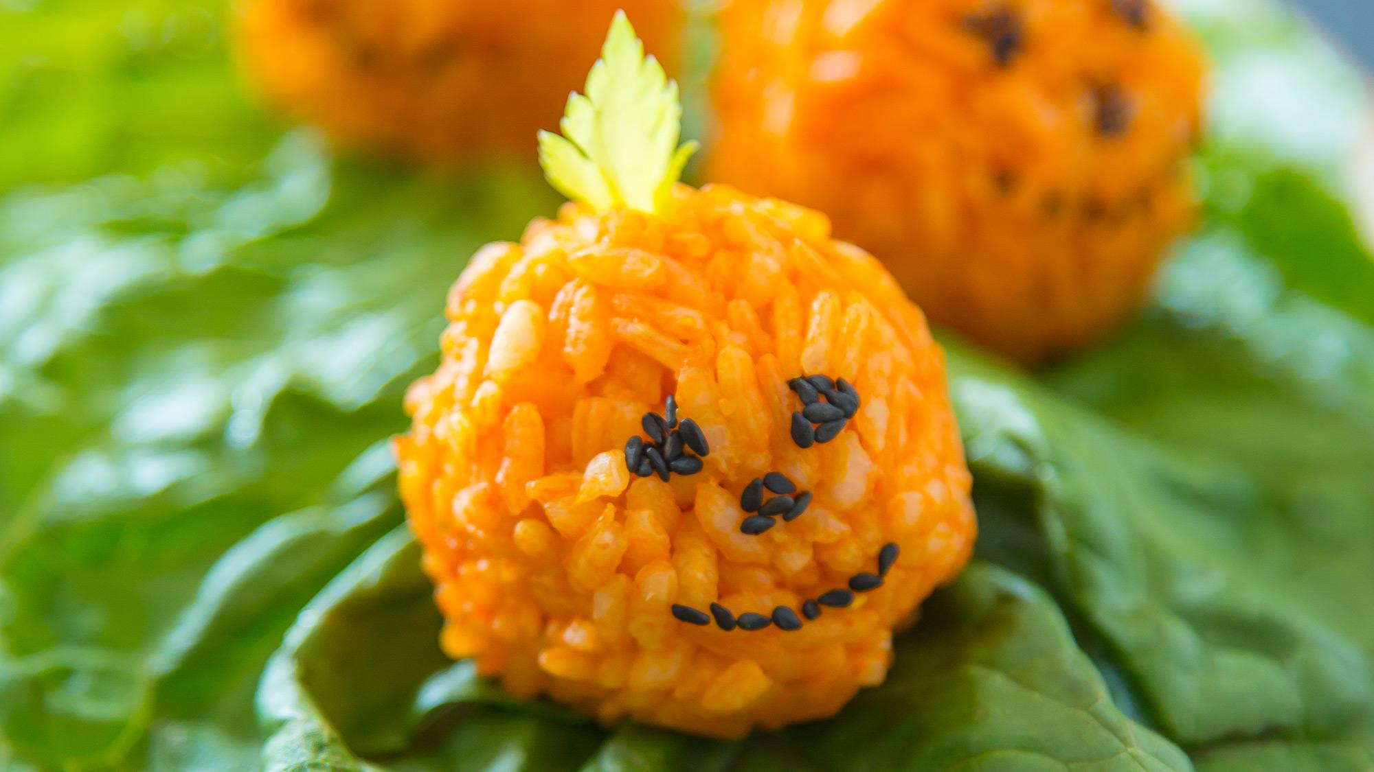 Halloween-Rice-Balls