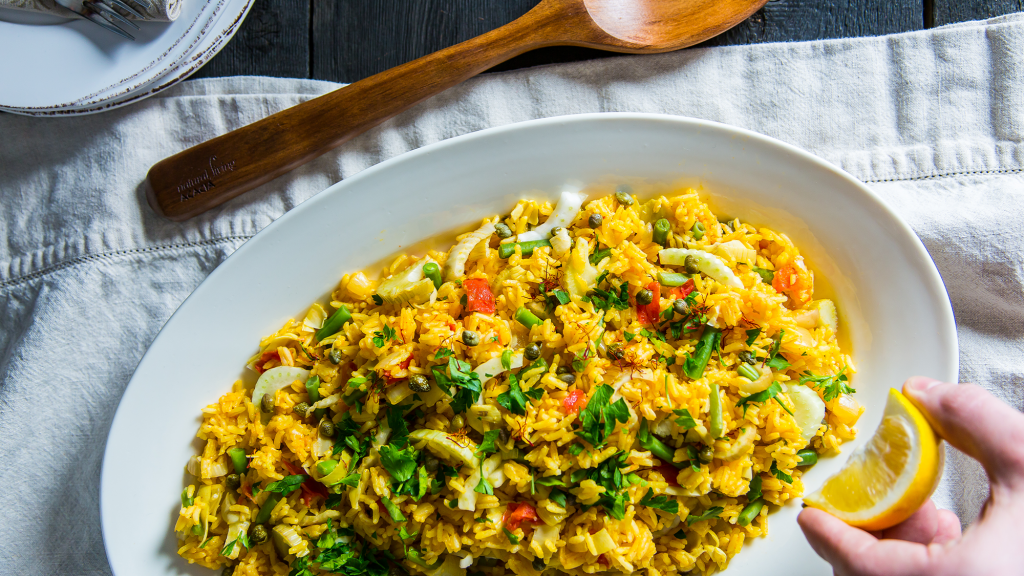 Paella Rice Cooker Recipe