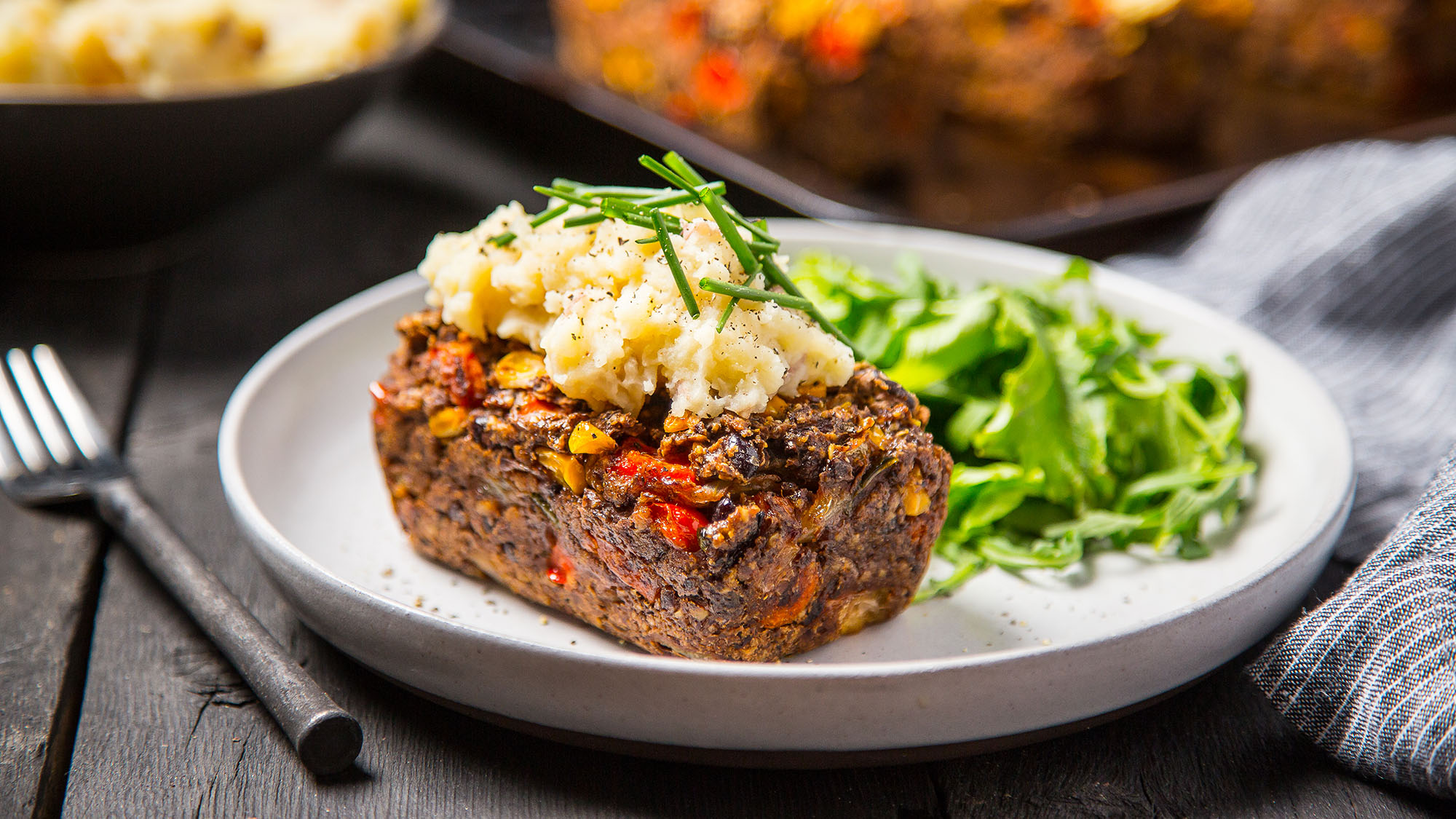 Black Bean Meat(less)loaf