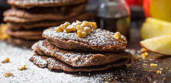 Chocolate Protein Pancakes2