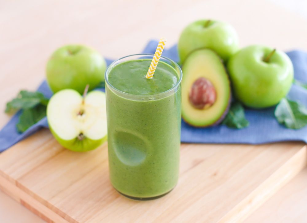 Lean Green Apple Smoothie - Eat Spin Run Repeat3