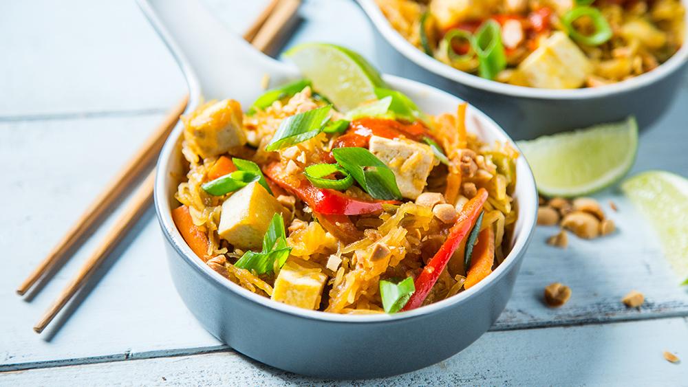 Gluten-free pad thai