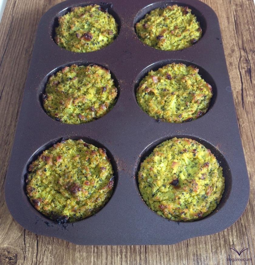Muffins recién salidos del horno
