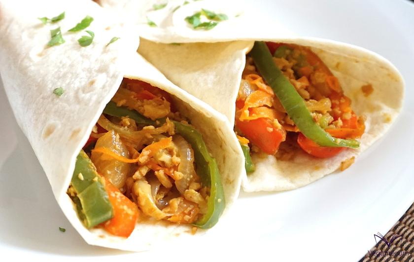 Vegan Mexican Fajitas