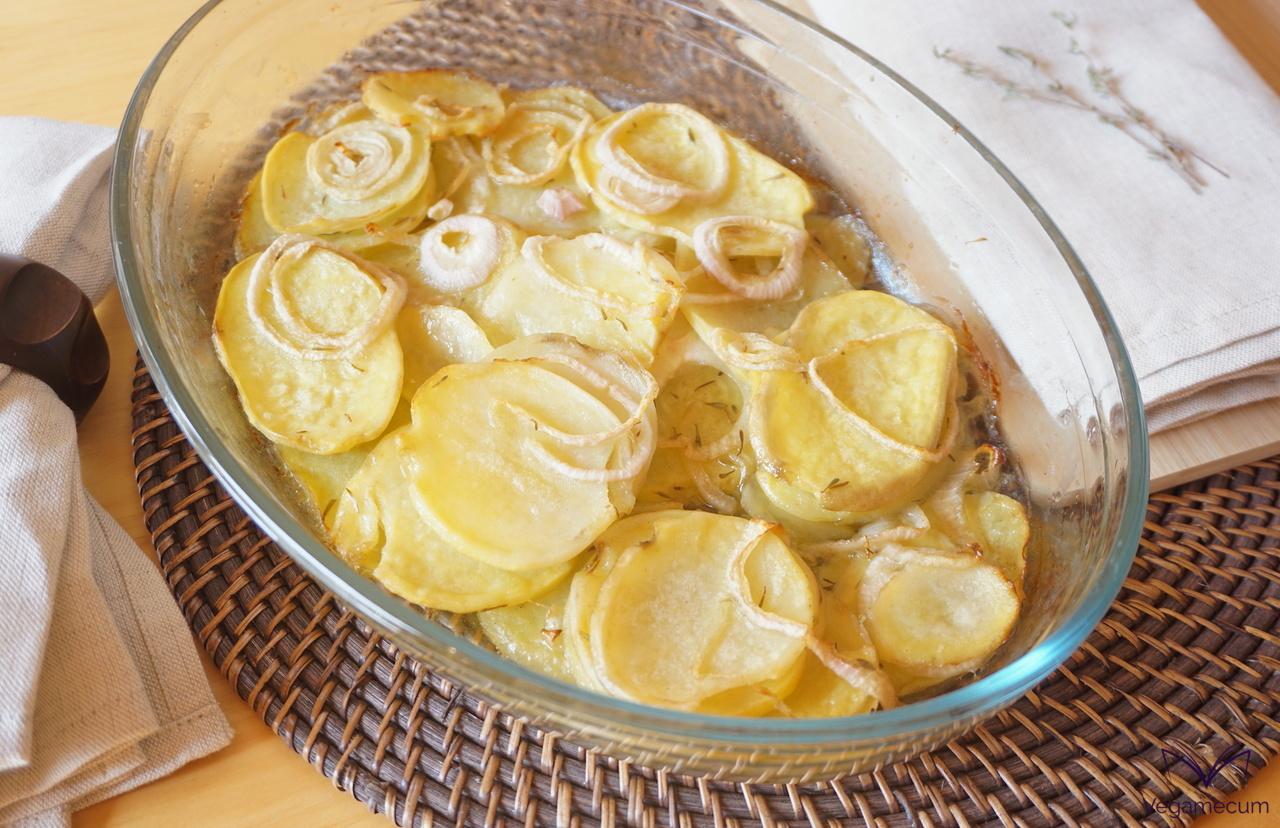 Detalle de Patatas panaderas