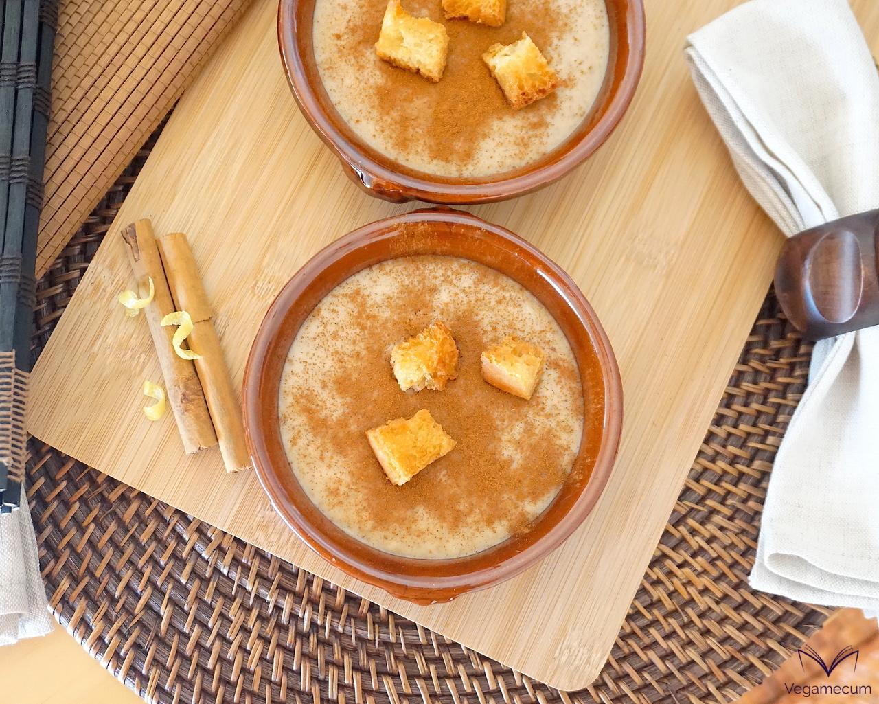 Vegan All Saints' Day sweet porridge