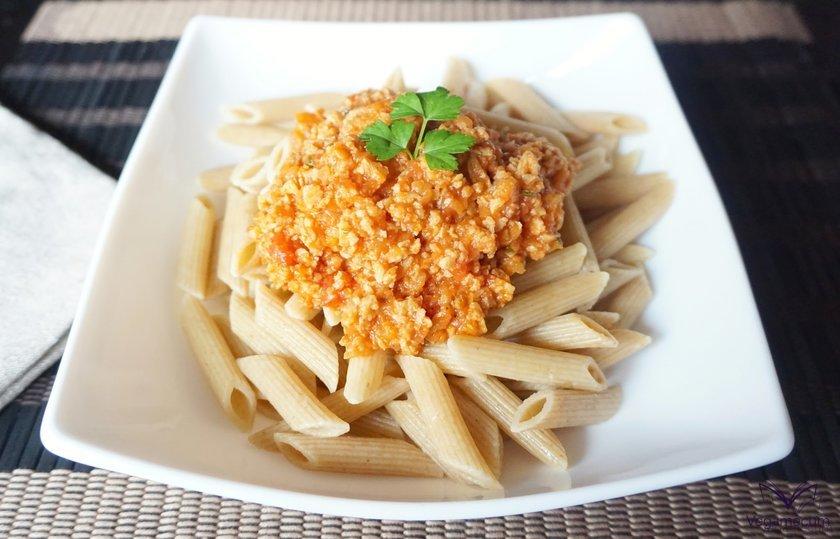 Salsa boloñesa vegana
