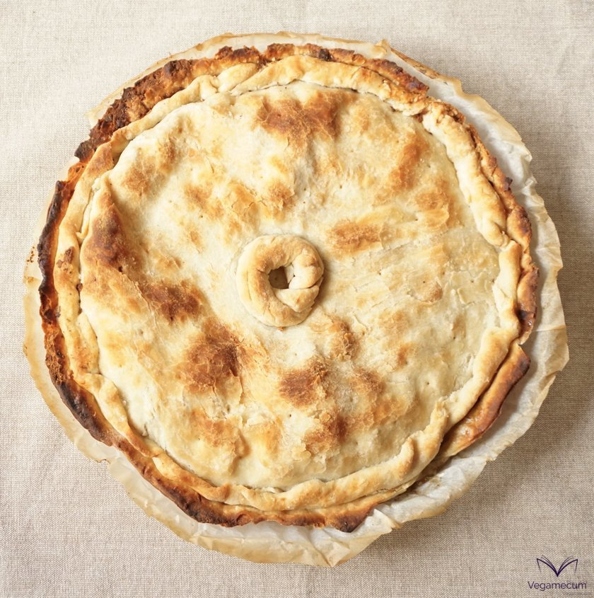 Shortcrust pastry or finished breeze pastry