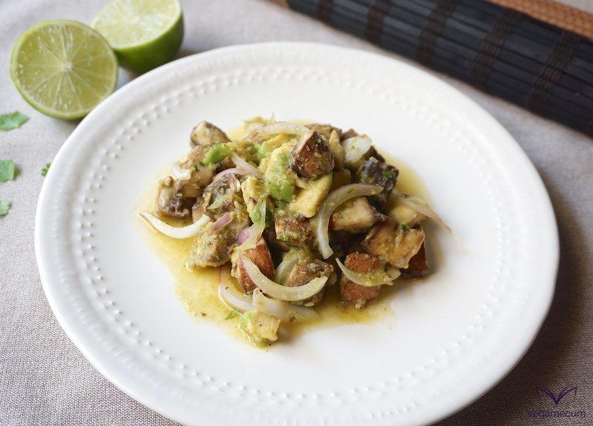 Portobello Vegan Cebiche