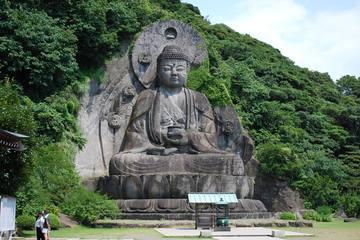 【鋸山】海底を通って日本一の磨崖仏を見に行く