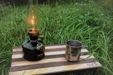 キャンプに最適なアウトドアテーブルを100均素材でハンドメイド!簡単DIYはじめよう