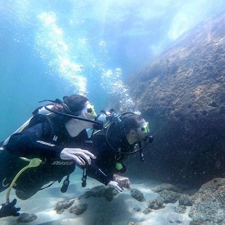 Mergulho na Ilha das Couves (Agende sua data) - Ubatuba-SP