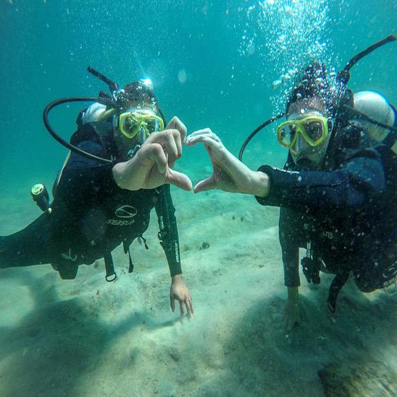 *PROMOÇÃO* Mergulho para 2 pessoas (Agende sua data) Ilha das Couves, Ubatuba-SP