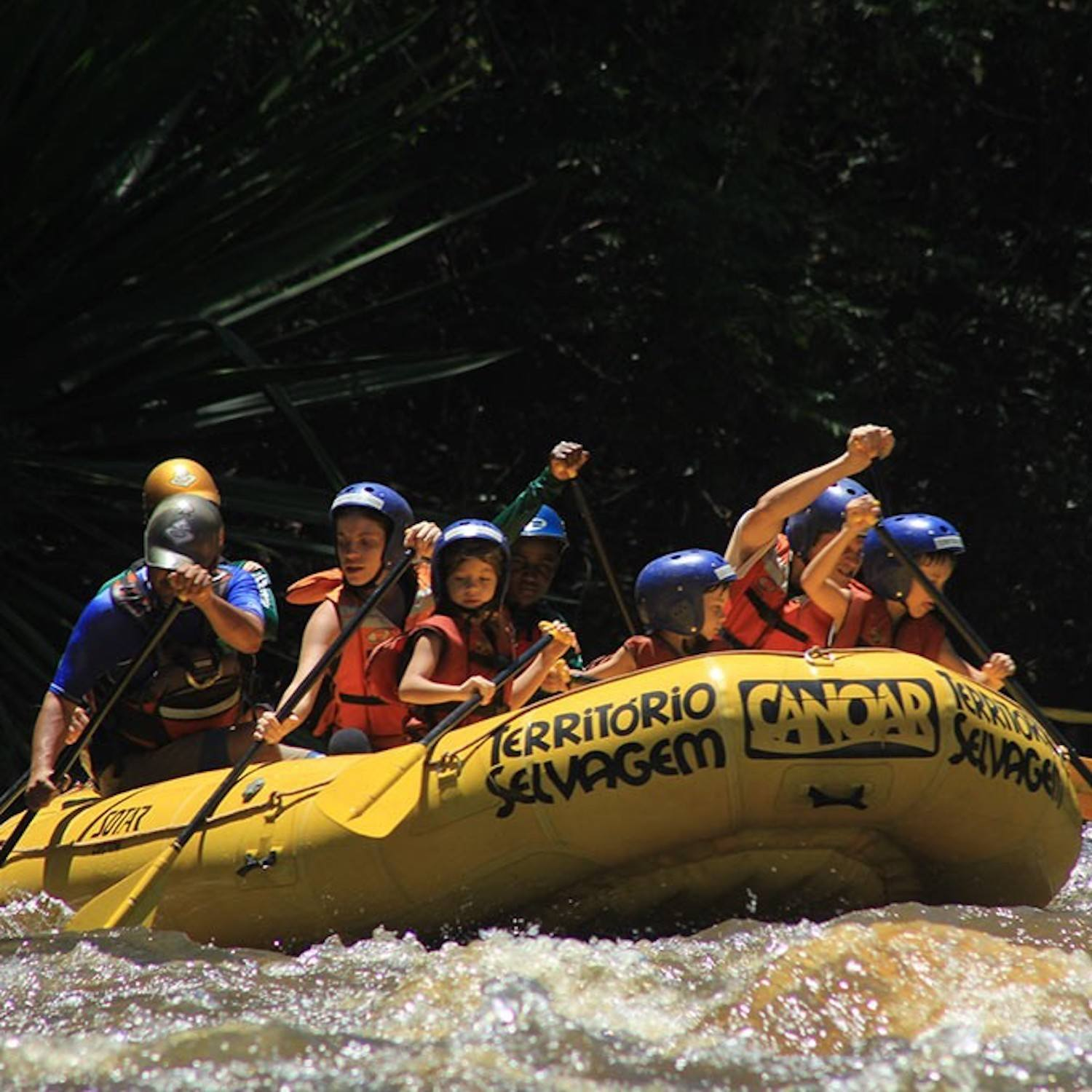 MIni Rafting no Jacaré - Brotas-SP (Agende sua data)