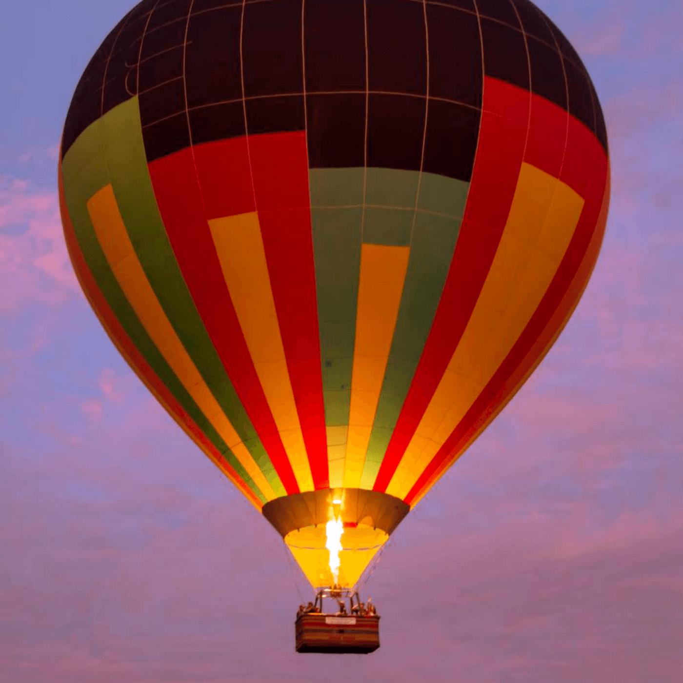 Passeio de Balão para 4 pessoas com Hospedagem em Boituva-SP (Agende sua Data)