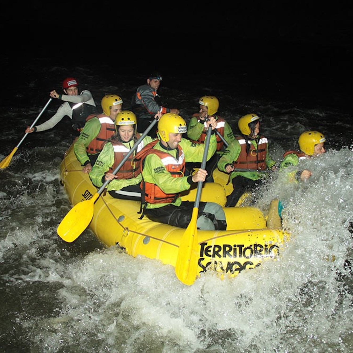 Rafting Noturno Jacaré -Brotas -SP (Agende sua Data)