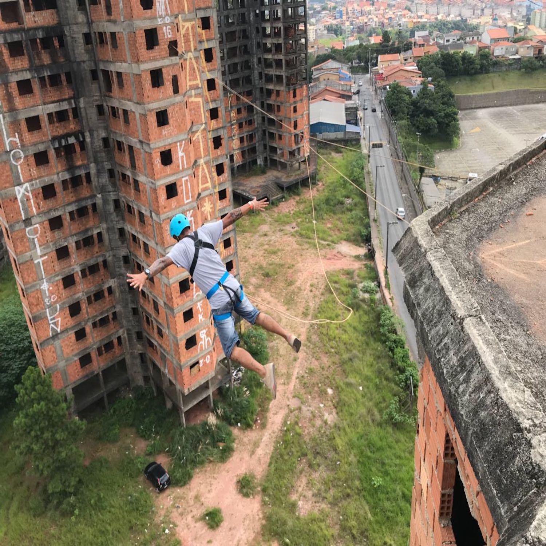 Rope Jump dos Prédios em São Bernardo do Campo-SP