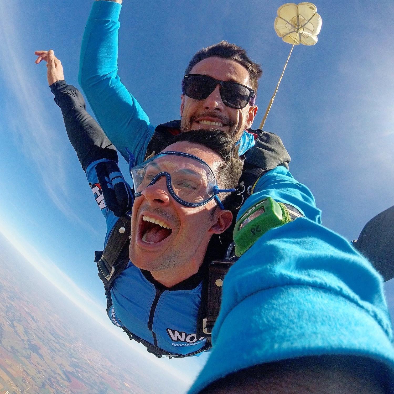 Salto de Paraquedas com Selfie FOTOS em Boituva-SP (Agende sua data)