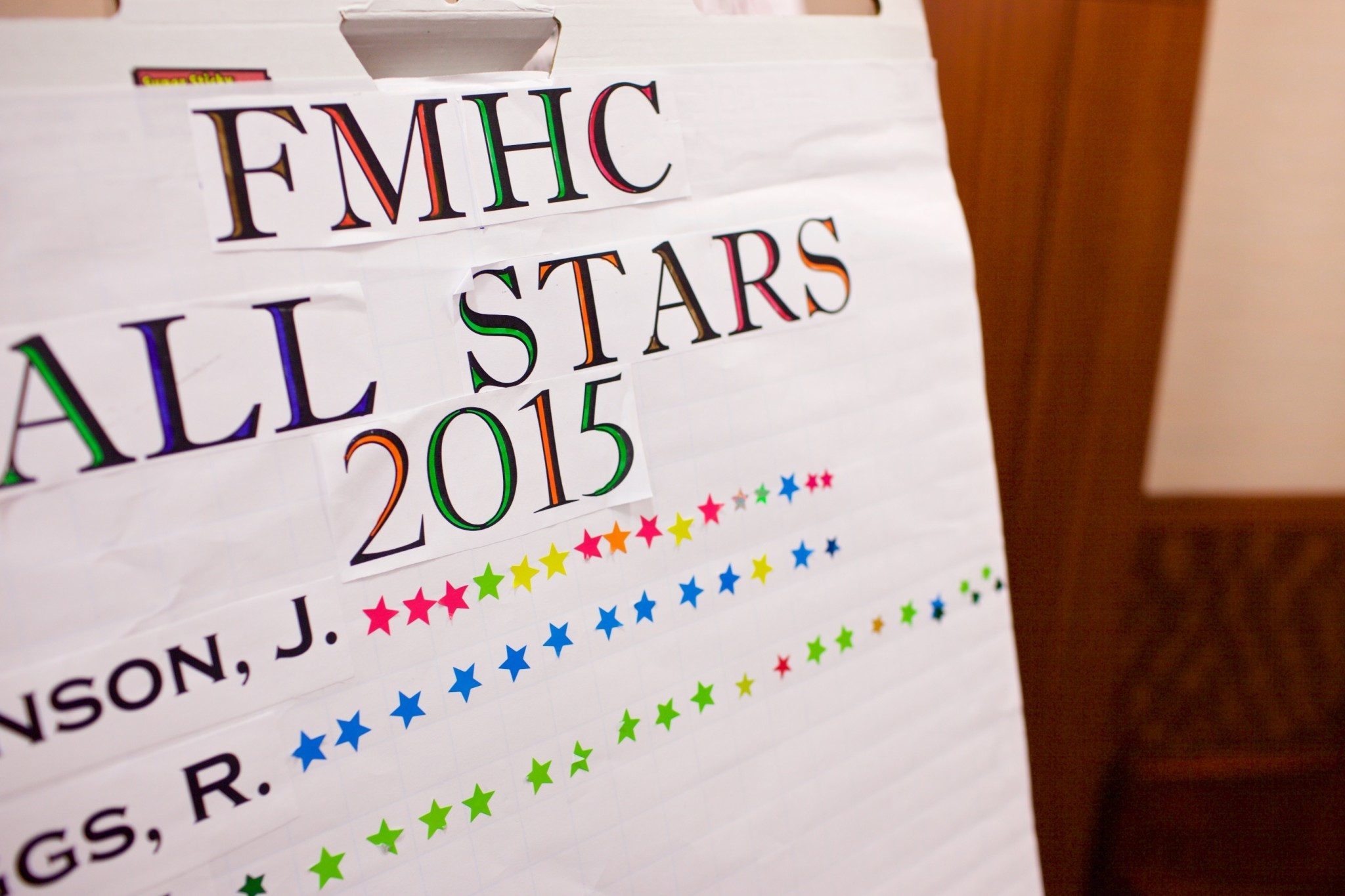 Fmhc All Stars 2015 Poster
