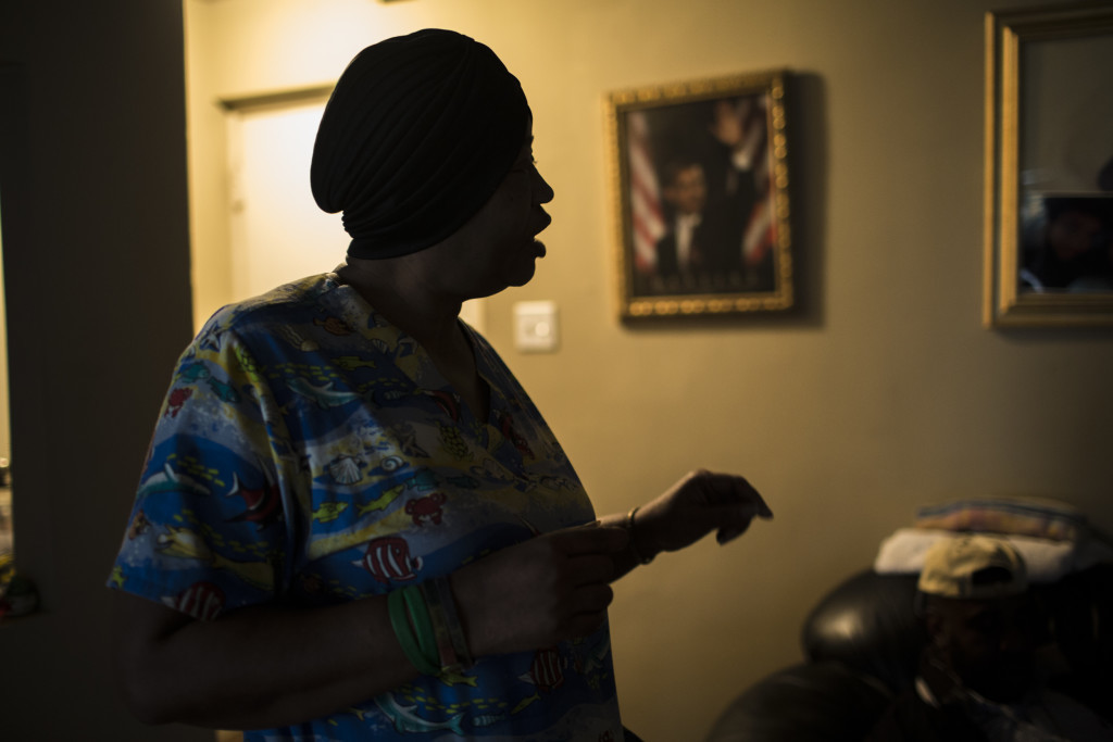 Tonya In Her Apartment