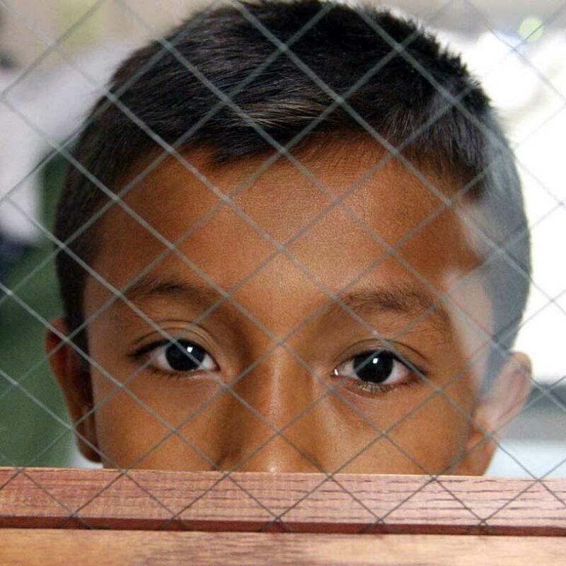 Child detention crisis sq