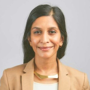Insha Rahman - Director of Strategy and New Initiatives