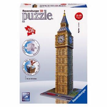 3D Puzzel Big Ben