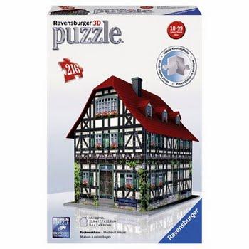 3D Puzzel Middeleeuwshuis