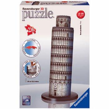 3D Puzzle Toren van Pisa
