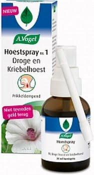 A.Vogel Hoestspray Nr 1 - Droge Hoest En Kriebelhoest 30ml