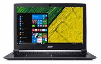 """Acer Aspire A715-71G-74QK 2.8GHz i7-7700HQ 15.6"""" 1920 x 1080Pixels Zwart Notebook"""