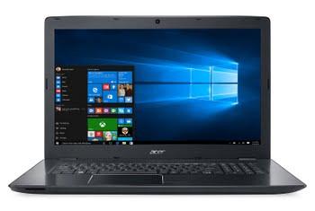 """Acer Aspire E5-774-35HZ 2GHz i3-6006U 17.3"""" 1600 x 900Pixels Zwart Notebook"""