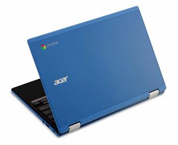 "Acer Chromebook 11 CB3-131-C3PK 2.16GHz N2840 11.6"" 1366 x 768Pixels Zwart, Blauw Chromebook"