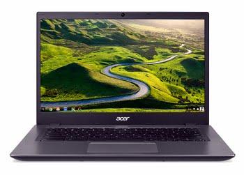 "Acer Chromebook 14 CP5-471-33PC 2.3GHz i3-6100U 14"" 1920 x 1080Pixels Zwart, Grijs"