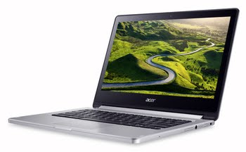 "Acer Chromebook CB5-312T-K822 2.1GHz M8173C 13.3"" 1920 x 1080Pixels Touchscreen Zilver Chromebook"
