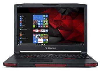 "Acer Predator 17 X GX-792-76H8 2.9GHz i7-7820HK 17.3"" 1920 x 1080Pixels Zwart, Rood"