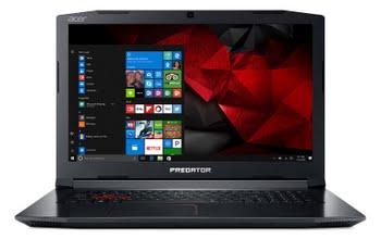"Acer Predator Helios 300 PH317-51-77KB 2.8GHz i7-7700HQ 17.3"" 1920 x 1080Pixels Zwart, Rood Notebook"