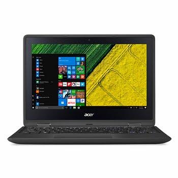 """Acer Spin SP111-31-P6VU 1.1GHz N4200 11.6"""" 1920 x 1080Pixels Touchscreen Zwart Hybride (2-in-1)"""
