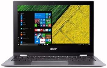 "Acer Spin SP111-32N-C9FE 1.10GHz N3350 11.6"" 1920 x 1080Pixels Touchscreen Grijs Hybride (2-in-1)"