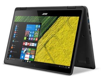 """Acer Spin SP513-51-552G 2.5GHz i5-7200U 13.3"""" 1920 x 1080Pixels Touchscreen Zwart"""