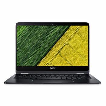 """Acer Spin SP714-51-M3GZ 1.30GHz i7-7Y75 14"""" 1920 x 1080Pixels Zwart Hybride (2-in-1)"""