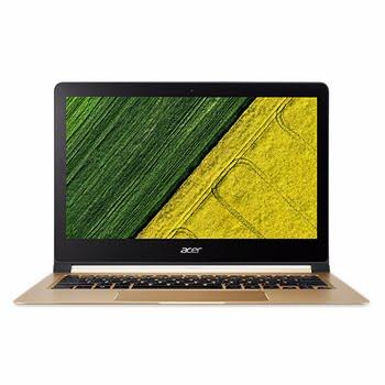 "Acer Swift 713-51-M53D 1.30GHz i7-7Y75 13.3"" 1920 x 1080Pixels Zwart, Goud Notebook"